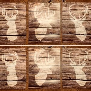Set of 3 Deer Art Prints